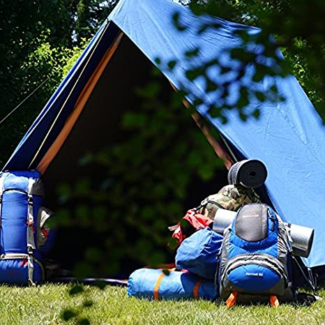 Hosa - Tienda de campaña CANADA 6 algodon - Tienda de campaña canadiense impermeable para 6 personas.: Amazon.es: Deportes y aire libre