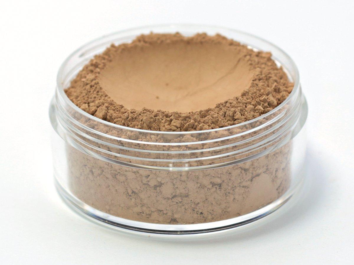 Vegan Mineral Wonder Powder Foundation - Shade ''Walnut'' medium with pink undertone