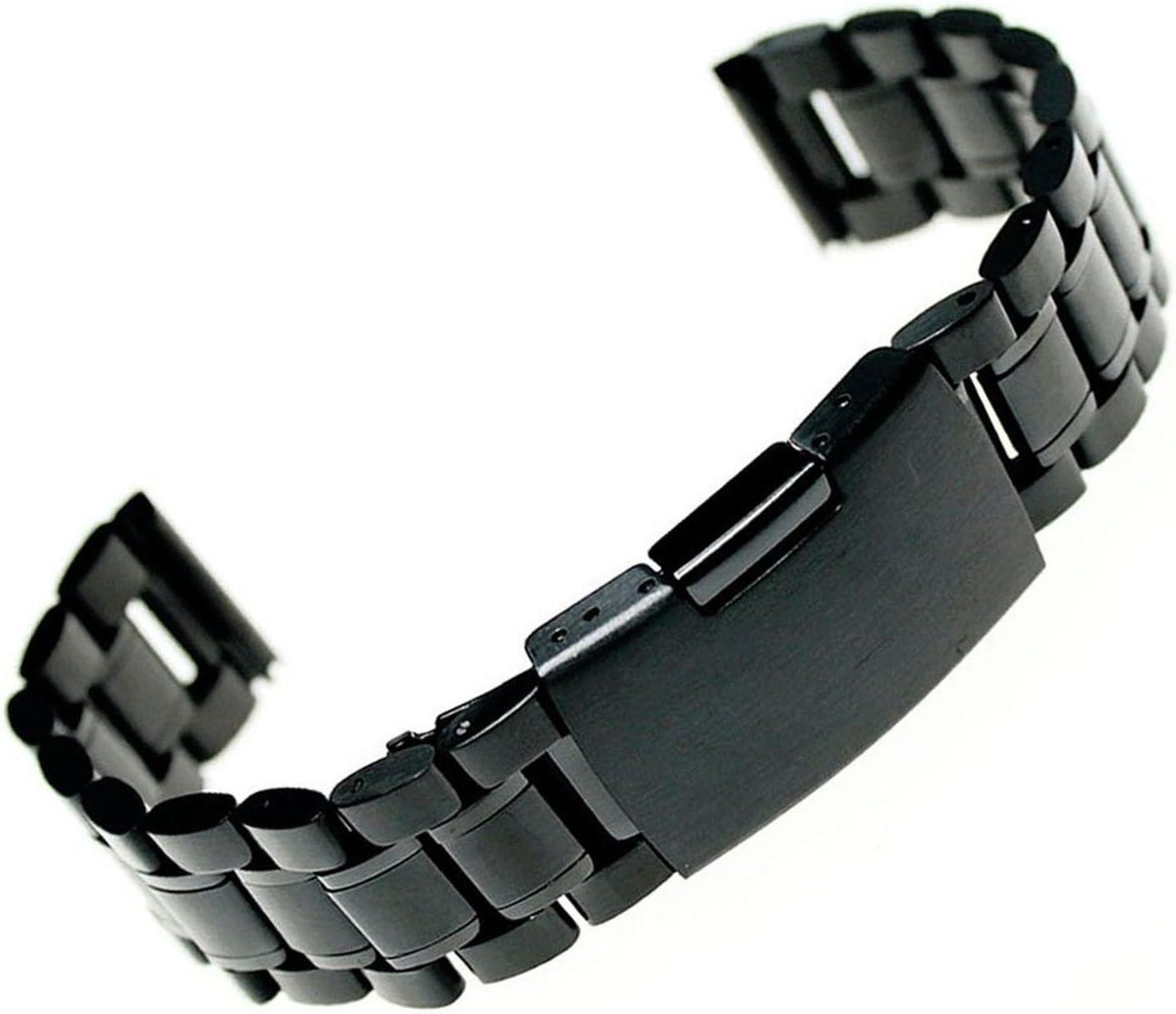 24mm Acero inoxidable reloj de pulsera banda Correa + ...