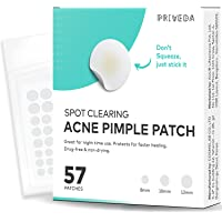 PRIVEDA ACNE PIMPLE PATCH 57 PATCHES Hydrocolloid spot clearing dots for Face Absorbing Cover, Invisible, Facial…