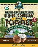 100% Certified Organic Coconut Milk Powder, Vegan, Dairy-Free, 1 Pound