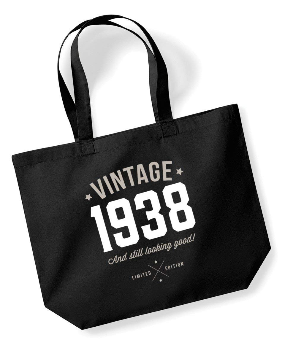 80th Birthday, 1938 Keepsake, Funny Gift, Gifts For Women, Novelty Gift, Ladies Gifts, Female Birthday Gift, Looking Good Gift, Ladies, Shopping Bag, Present, Tote Bag, Gift Idea
