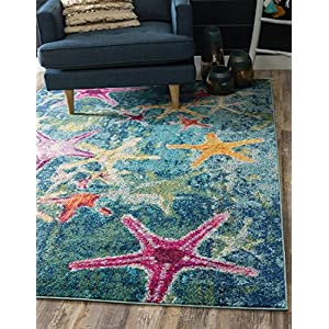 61pE3r-S0mL._SS300_ Starfish Area Rugs For Sale