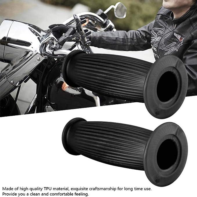 Aramox Poign/ées 1 paire de guidons de moto universels avec poign/ées vintage 1#