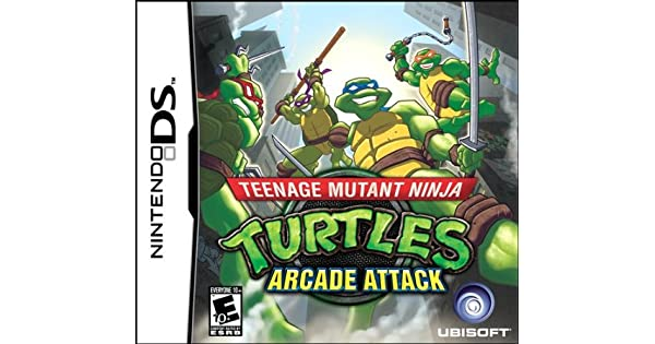 Amazon.com: Teenage Mutant Ninja Turtles: Arcade Attack ...