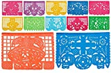 Extra Long Plastic Day of The Dead Medium Papel