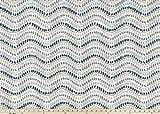 Fabric Shower Curtain - JEWEL AWENDELA - 72'' Width x (72'', 74'', 78'', 84'', 90'', 96'') Length