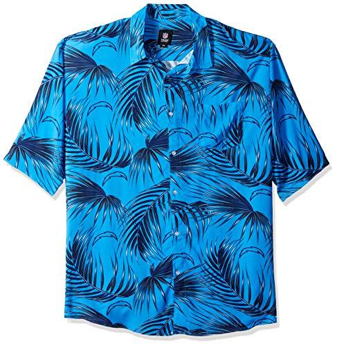 NFL Mens Floral Shirt: La Chargers, XXX Large