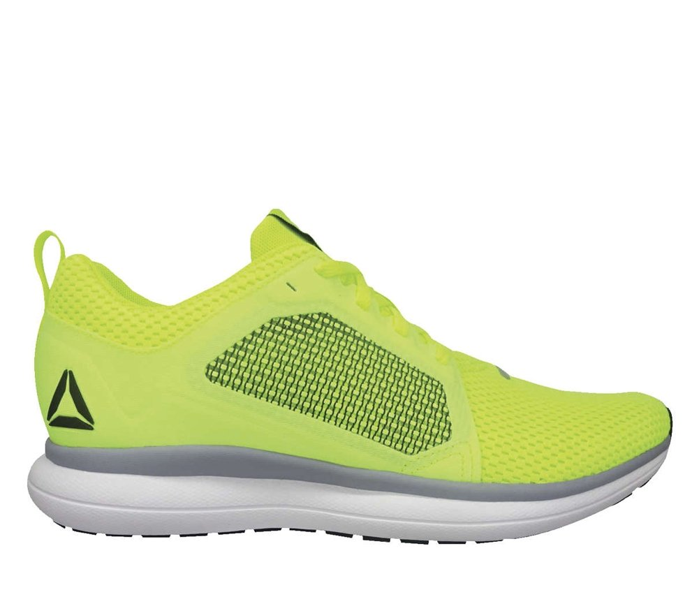 Reebok Men's Driftium Ride Running Shoe B077ZG2Q6H 13 D(M) US Solar Yellow/Black/Silver