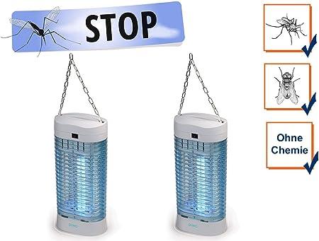 4er Set Insektenvernichter Mückenfalle ohne Chemie