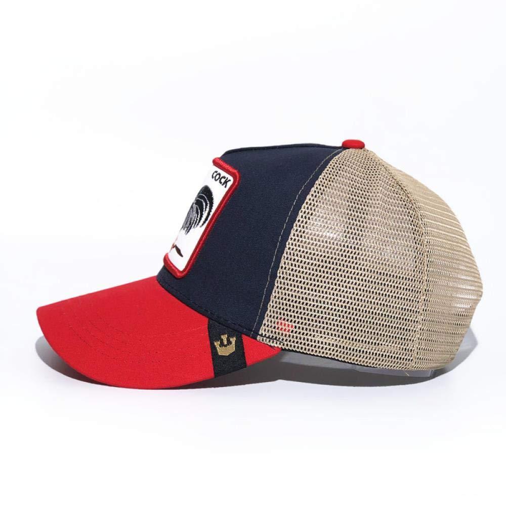 yuange Gorra de b/éisbol Animal Bordado Sombrero de Red Caballo 3
