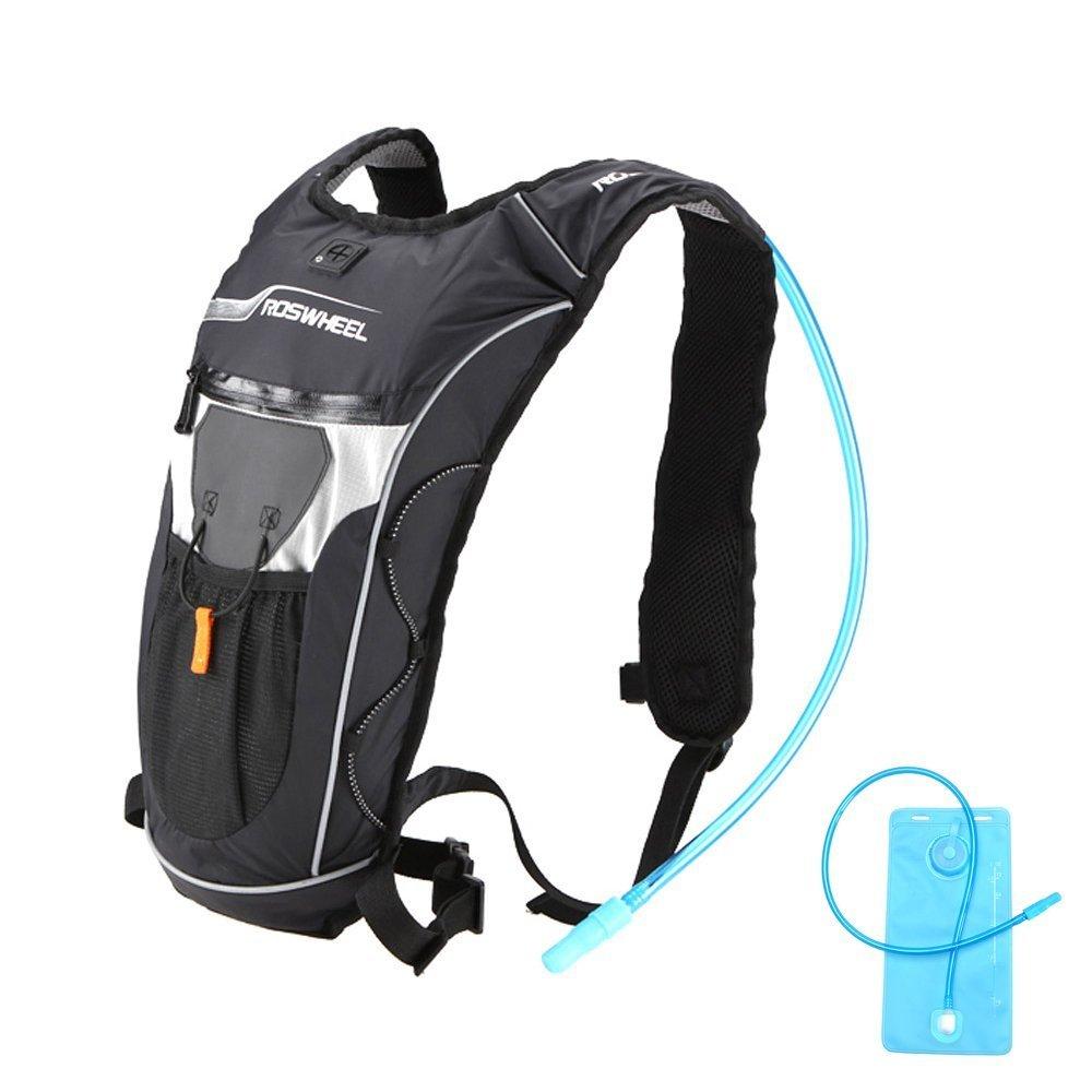 Ezyoutdoor軽量5lスポーツ防水性サイクリング水和バックパックwith 2l水バッグ自転車用サイクリングランニングハイキングアウトドアスポーツキャンプ   B078SN6N1Y