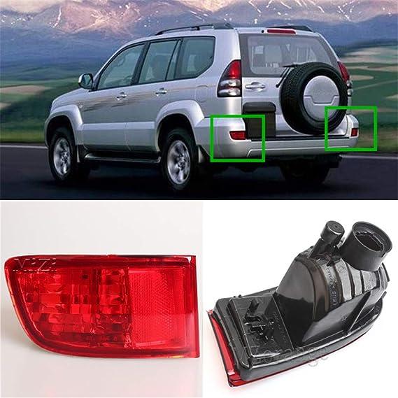 J120 Rear Right Bumper Fog Lamp Housing for Toyota Land Cruiser Prado 02-09