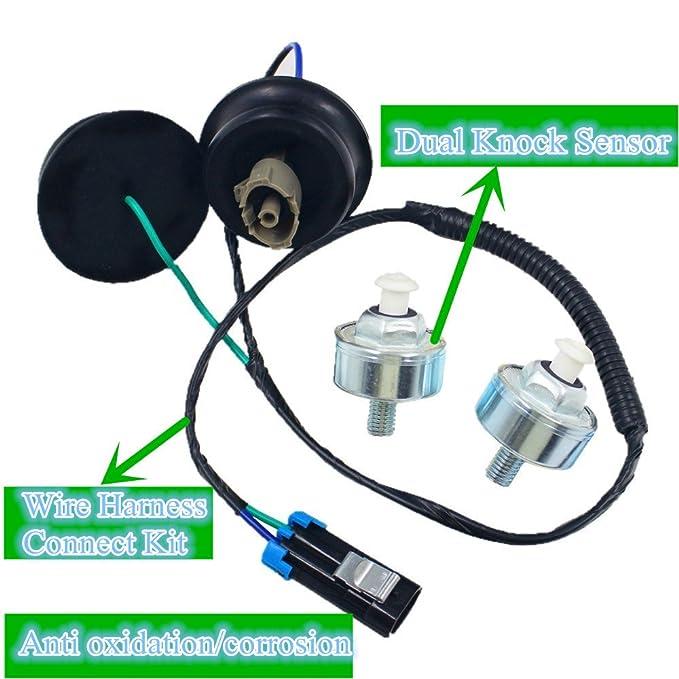 amazon com def wire harness connector dual knock sensors kit rh amazon com