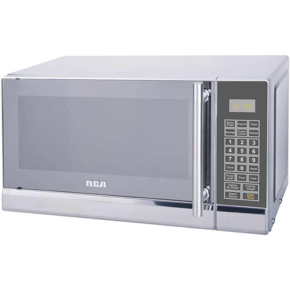 Rca Rmw741 .7 Cubic-Ft Stainless Steel Microwave 19.00in. x 14.70in. x 11.50in.