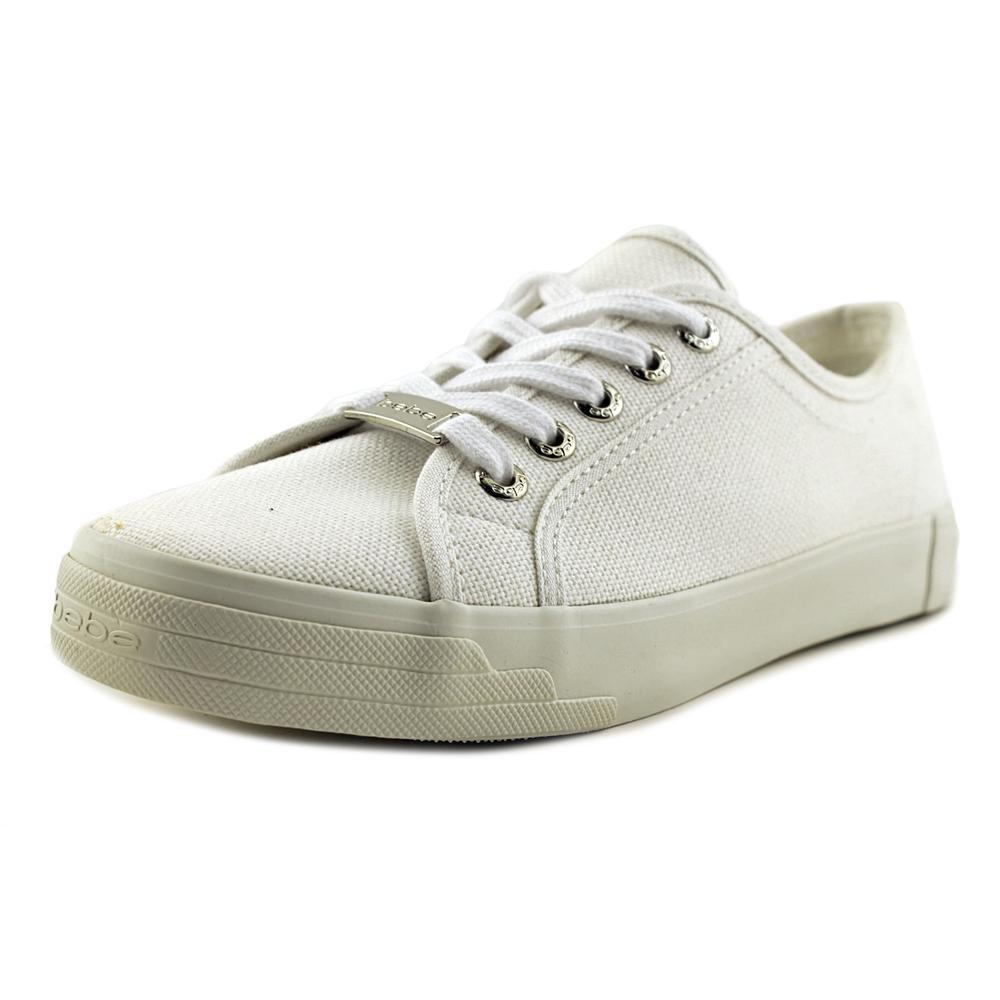 bebe Women's Dane-l Fashion Sneaker B07948RZDQ 9 B(M) US|White