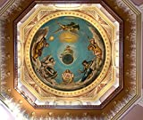 Notre Dame, IN - Photo - - Ceiling mural in dome at the University of Notre Dame, located in Notre Dame north of the city of South Bend, in St. Joseph County, Indiana. - Carol Highsmith