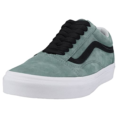 Vans Old Skool Oversized Lace Uomo Green Black Scarpe 9.5 UK