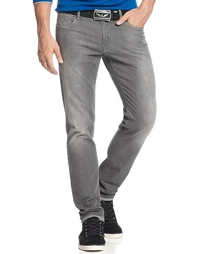 ec046d6642 Amazon.com: ARMANI JEANS Men's J06 Slim Fit Jean in Grey: Armani ...