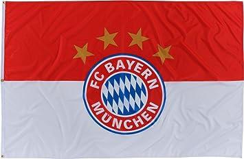FC Bayern M/ünchen Hissflagge Logo