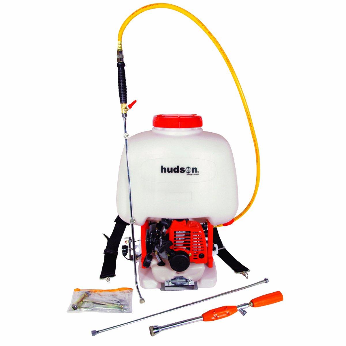 Hudson 18537 6.5 Gallon 1 HP 2 Stroke Gas Powered Professional Bak-Pak Power Sprayer