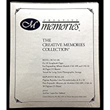 Creative Memories Refill Pages RCM-10S Scrapbooking Sealed 8x10 CM-10B CM-10 NIP supplier_mortycrass