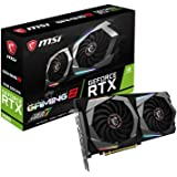MSI Gaming GeForce RTX 2060 6GB GDRR6 192-bit HDMI/DP Ray Tracing Turing Architecture VR Ready Graphics Card (RTX 2060…