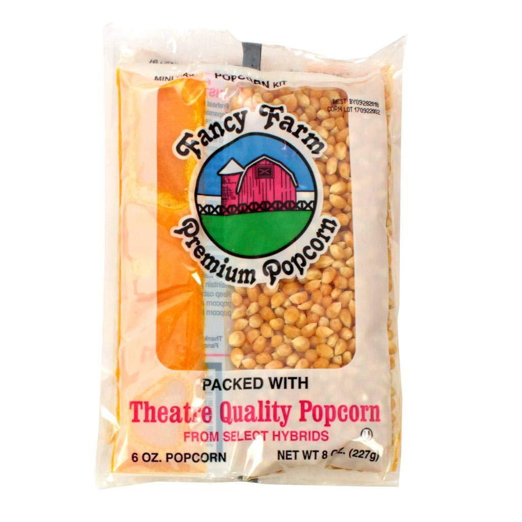 Fancy Farms Popcorn Mini-Max Kit - 8 oz. kit, 36 per case by Popcorn (Image #1)