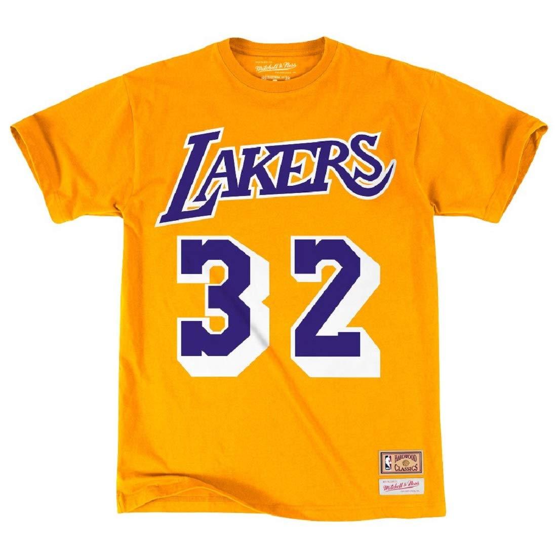 Mitchell /& Ness LA Lakers Magic Johnson T-Shirt