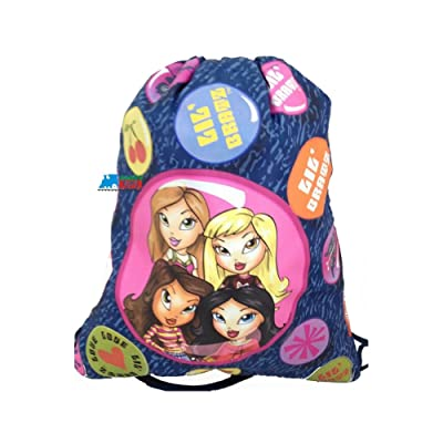 Drawstring Bag - Bratz Blue Cloth String Bag | Kids' Backpacks