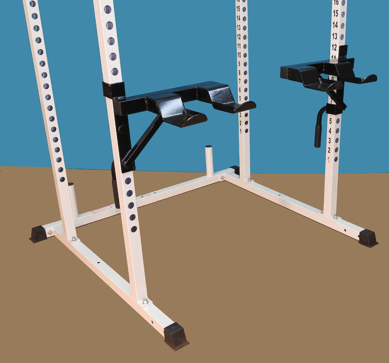 TDS Dumbell & Barbell Trays for Power Squat Racks by TDS