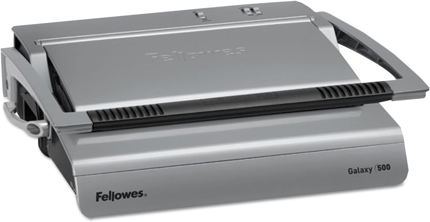 FEL5218201 Fellowes Galaxy 500 Manual Comb Binding Machine