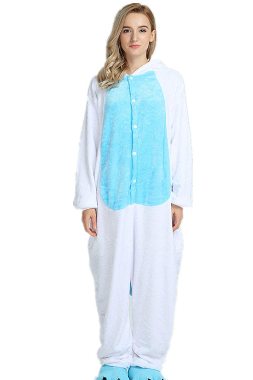 Kenmont Unisexo Adulto Pijama Traje Cosplay Animal Pyjamas Unicornio (S(148-160CM), Azul): Amazon.es: Juguetes y juegos