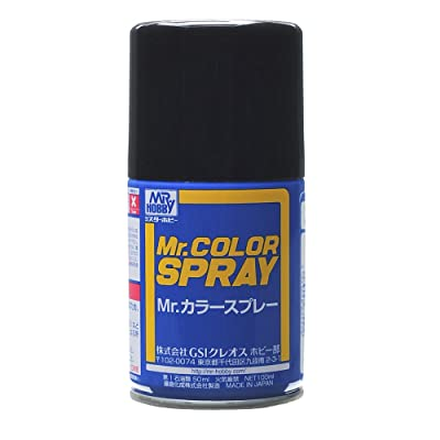 GSI Creos Mr. Color Spray 100ml, Flat Black: Toys & Games