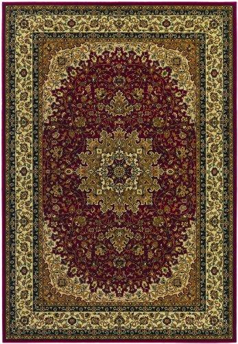 Couristan Izmir Royal Kashan Red Area Rug, 9'2