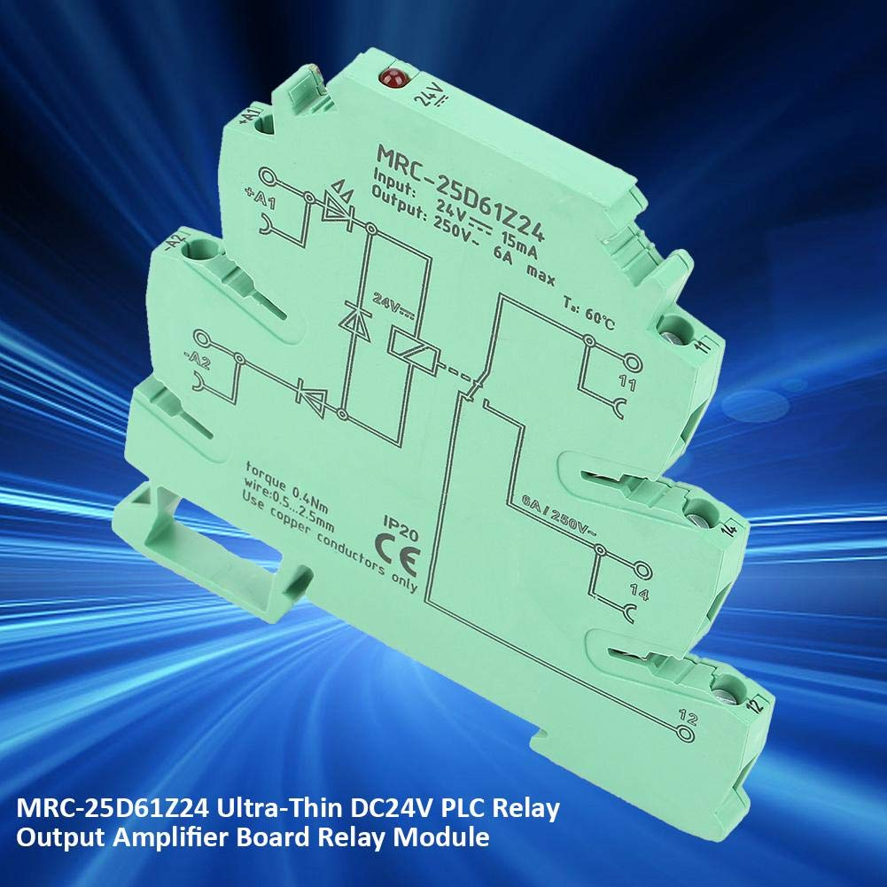 The Integration of Structure PLC Interface Relay,MRC-25D61Z24 Ultra-Thin DC24V PLC Relay Output Amplifier Board Relay Module