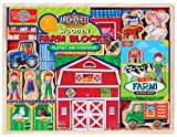 Best T.S. Shure Toys For 4 Year Girls - T.S. Shure ArchiQuest Wooden Farm Blocks Playset Review