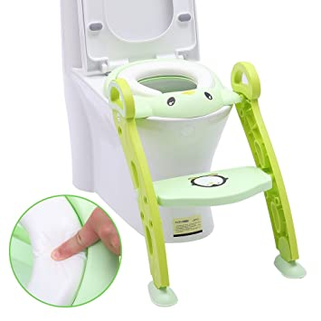 Amazoncom Portable Potty Training Seat For Toddler Potty Chair
