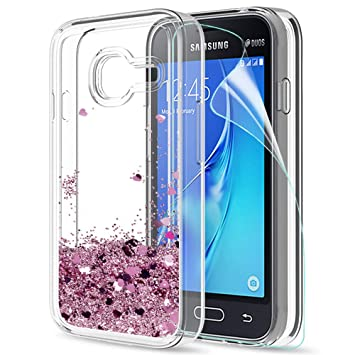 LeYi Compatible con Funda Samsung Galaxy J1 Mini Silicona ...
