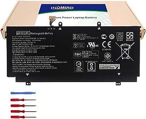 Indmird SH03XL Laptop Battery for Hp Spectre X360 13-AC033DX Series Notebook Replacement SH03 SHO3XL SH03057XL HSTNN-LB7L 859026-421 859356-855 TPN-Q178 11.55V 57.9Wh 5020mAh
