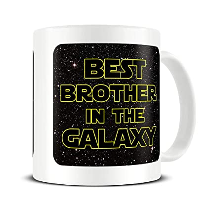 brother gifts brother mug best brother in the galaxy coffee mug funny brother gifts brother gift