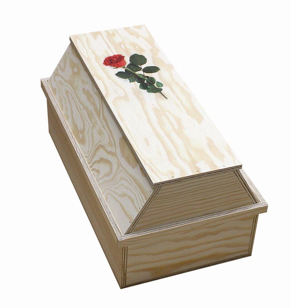 Elmato 10171 - Cercueil pour animal - En 2 parties - Contreplaqué