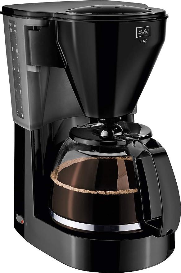 Melitta 1010-02 - Cafetera de goteo, 1000 W, 1.25 L, color negro ...