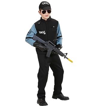 Disfraz infantil de policía de unidad especial SWAT: Amazon.es ...