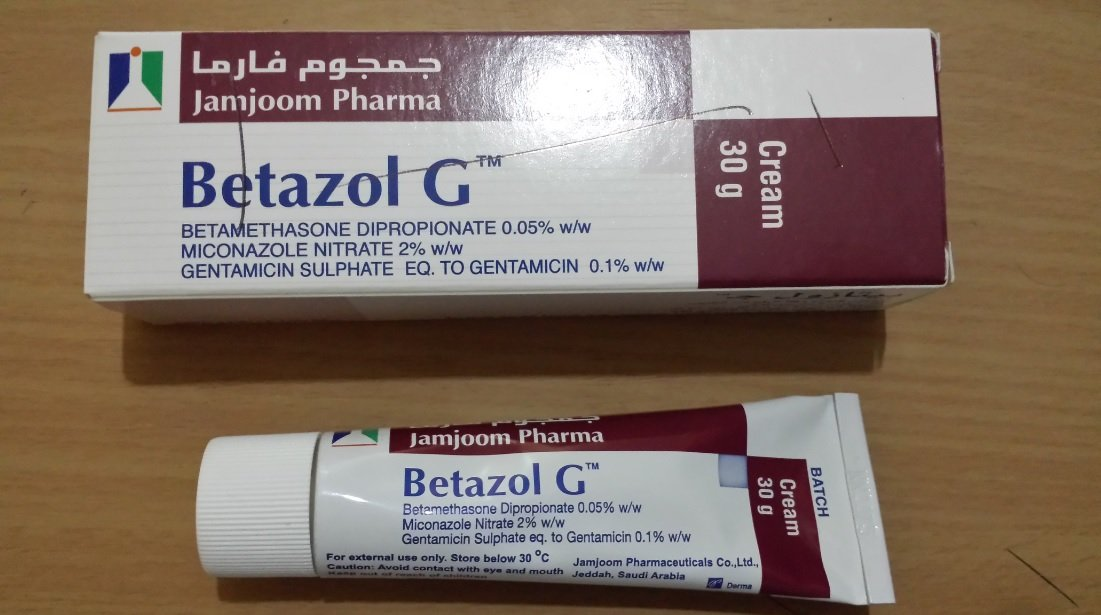 Betazol perfect treatment for penile itching