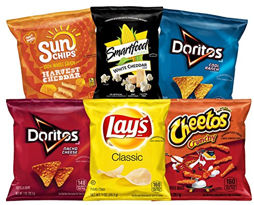 Frito Lay Classic Mix Variety Pack  35 Count