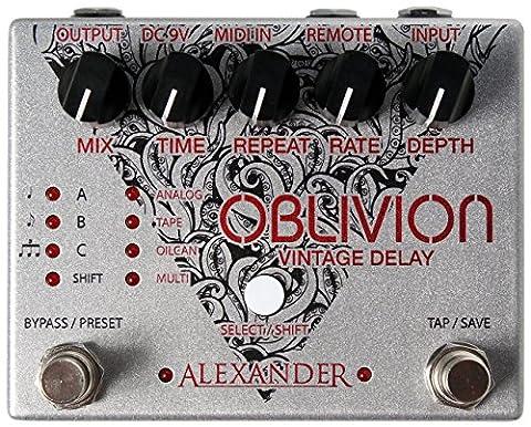 Alexander Pedals Oblivion Vintage Delay (Alexander Delay)