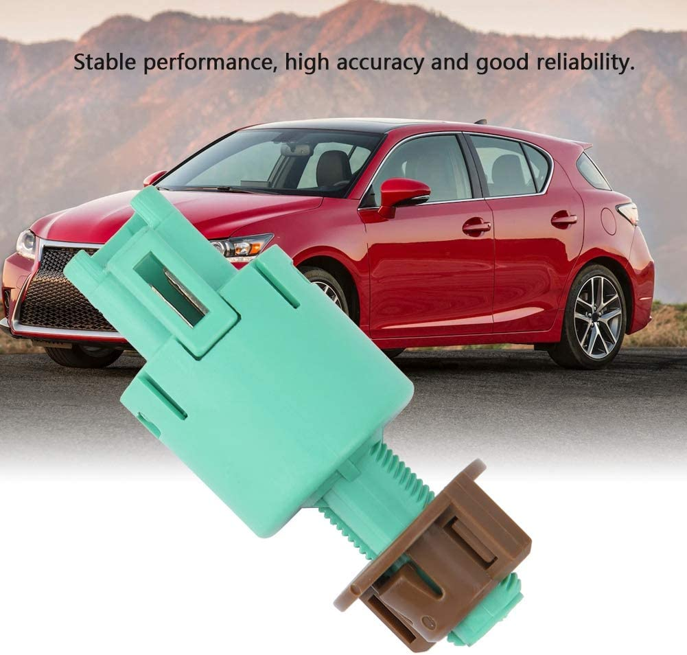 Cuque Brake Light Switch 84340-69075 Car Brake Light Lamp Stop Switch Automobile Stoplight Switch for Lexus CT200H GX460 HS250H LX570 Toyota Camry Land Cruiser Prius RAV4 Sienna 8434069075