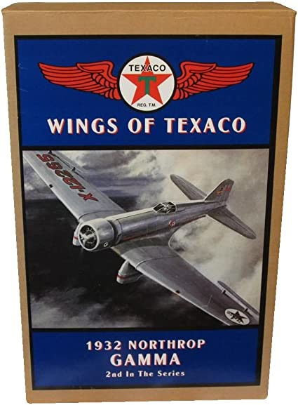 Wings of Texaco 1932 Northrop Gamma 2nd in Series 1994 ETL