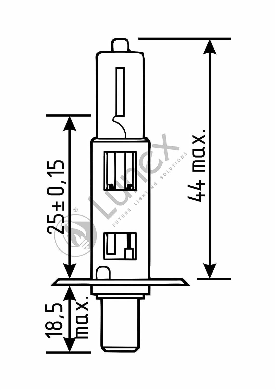 Mintex MDC2317 Front Brake Discs x2 314mm Diameter Vented 30mm Thickness